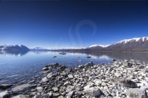 Glacial Lake Tekapo Shoreline - Steve Jansen Photography