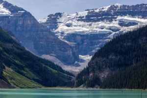 Lake Louise and Upper Victoria Glacier - Steve Jansen Photography